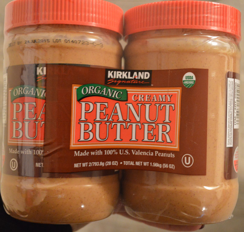 Costco Home Store Locations: Product Review:Kirkland Organic Creamy Peanut Butter